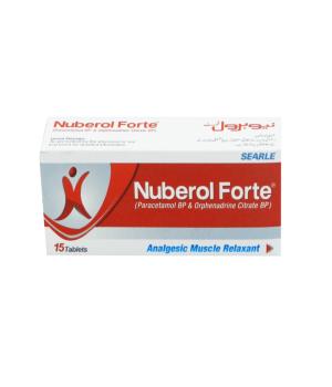 Nuberol Tablets Forte 15's