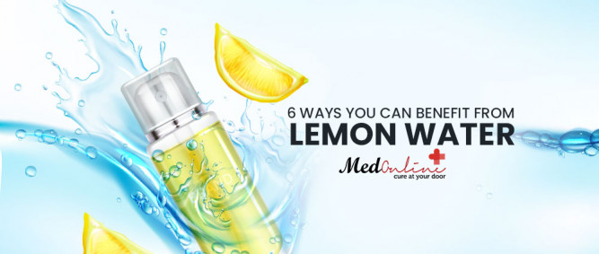 6 Ways You Can Benefit from Lemon Water